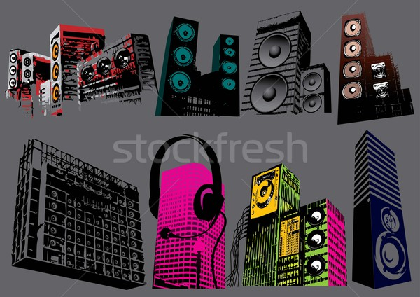 Speakers Stock photo © UltraPop