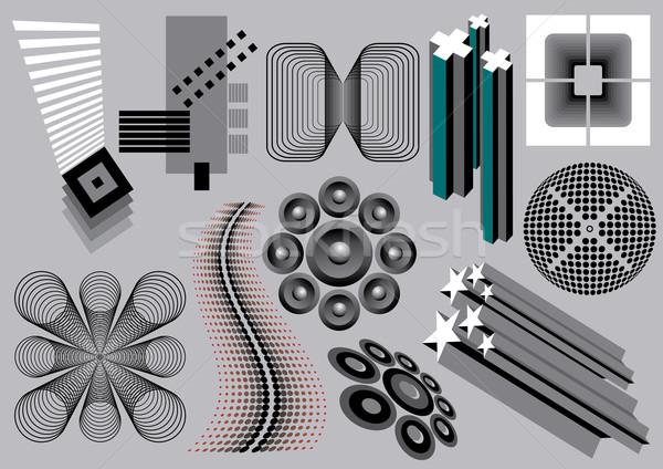 Ses elemanları görüntü benim toplama dizayn Stok fotoğraf © UltraPop