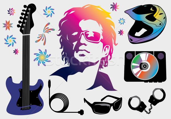 Music Elements Stock photo © UltraPop