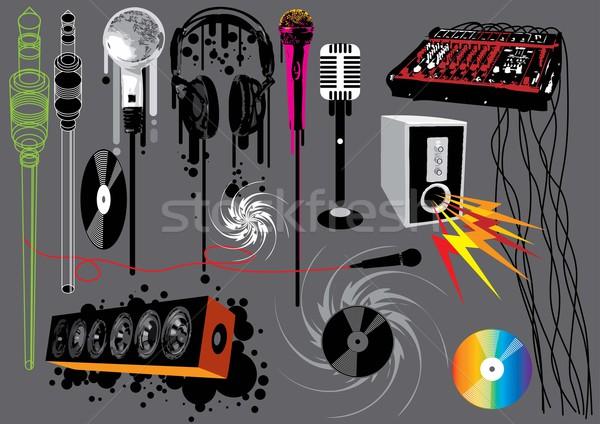 Müzik ayarlamak görüntü benim Stok fotoğraf © UltraPop