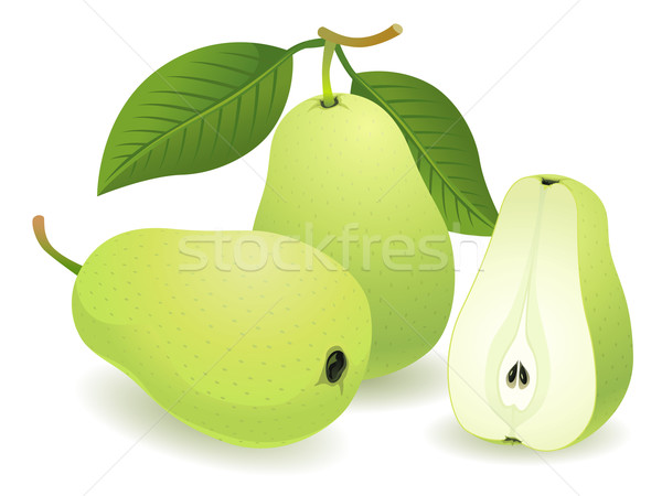 Pear Fruit Stock photo © UltraPop