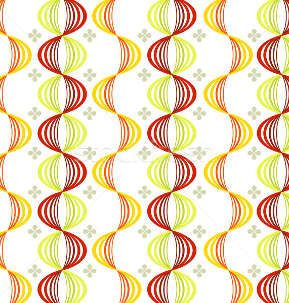 Wallpaper patrón vector retro sin costura textura Foto stock © UltraPop