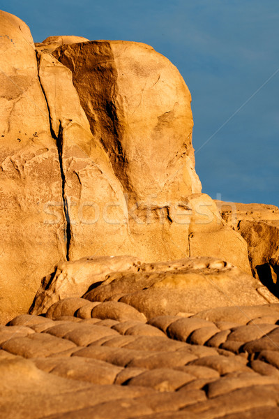 Sandstone Rock in Provence, France Stock photo © ultrapro