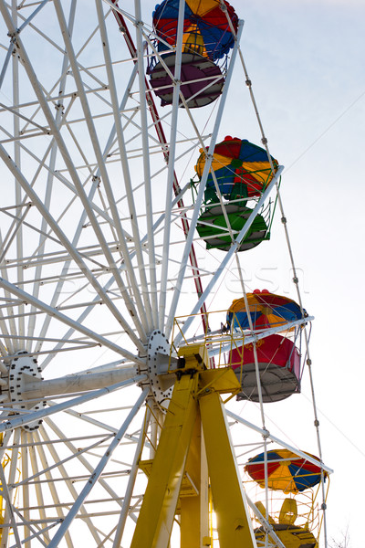 old Ferris wheel fragment Stock photo © ultrapro