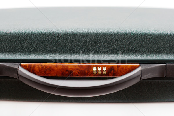 handle and combination lock briefcase Stock photo © ultrapro