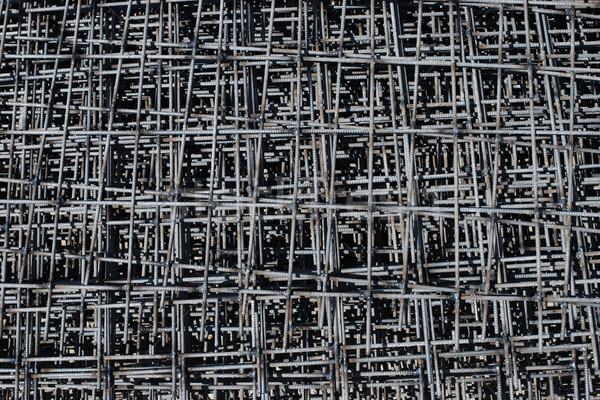 stack of rebar grids Stock photo © ultrapro