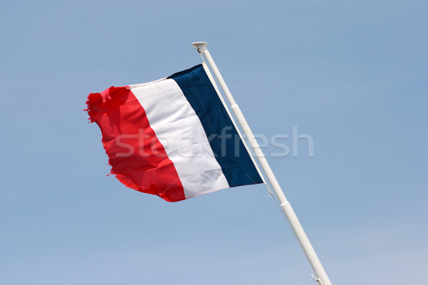 French flag on the mast Stock photo © ultrapro