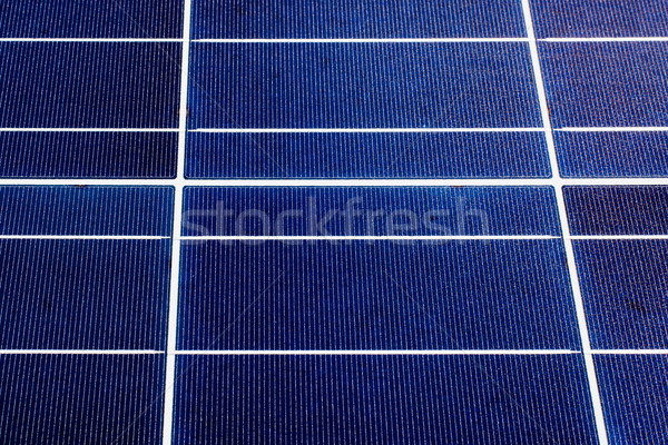 texture of a solar panel closeup Stock photo © ultrapro