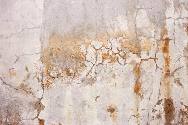 Cement gips muur Geel textuur Stockfoto © ultrapro