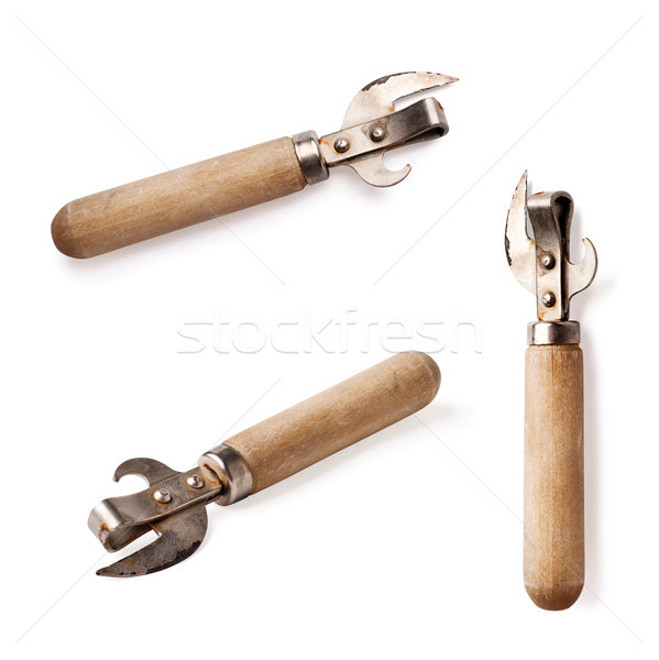 can opener with wooden handle Stock photo © ultrapro