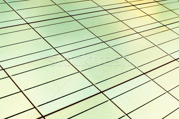 seamless texture of a solar panel closeup. Invert color photo Stock photo © ultrapro