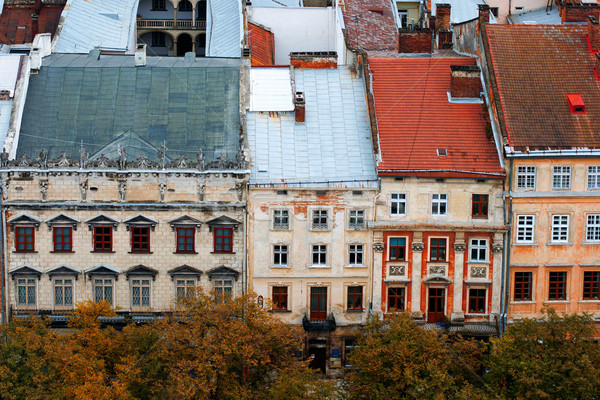 Lviv at autumn, Ukraine Stock photo © ultrapro