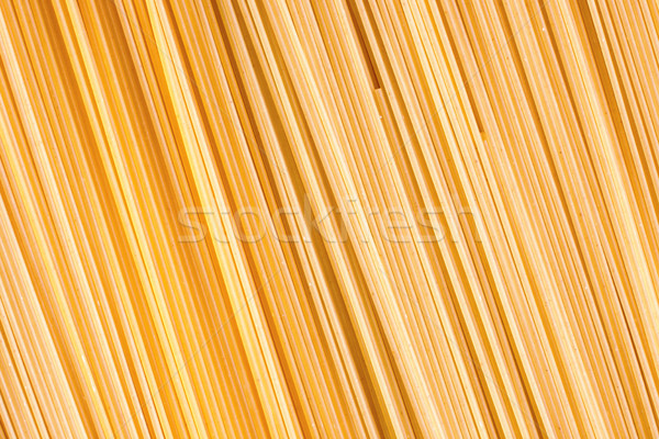 Amarelo macarrão textura longo grande Foto stock © ultrapro