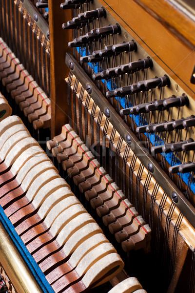 Velho dentro elemento piano usado Foto stock © ultrapro