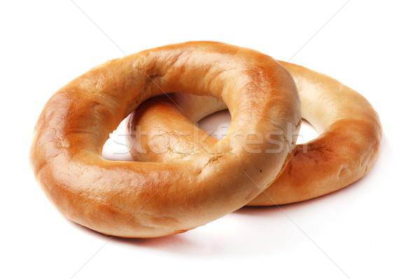 全粒小麦 孤立した 白 食品 パン 食事 ストックフォト © ultrapro