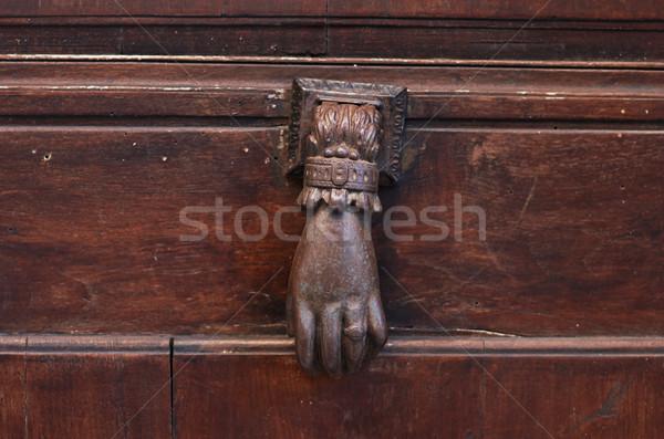 old door knocker Stock photo © ultrapro