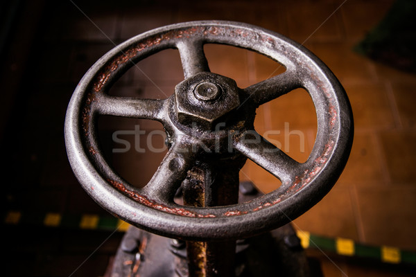 old handwheel of valve Stock photo © ultrapro