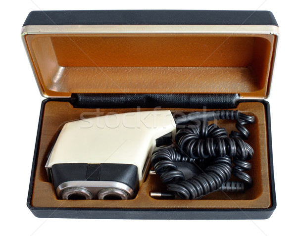 Soviet vintage electric razor in a case Stock photo © ultrapro