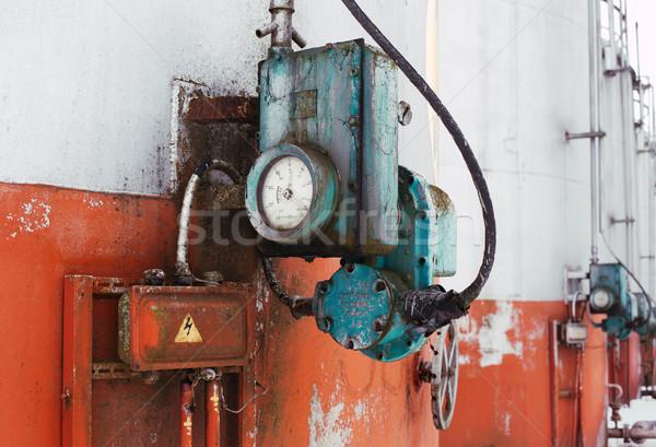 古い 燃料 タンク バー ストックフォト © ultrapro