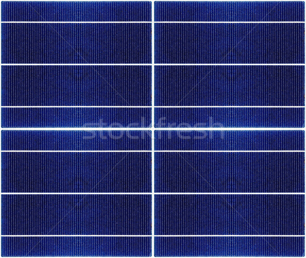 seamless texture of solar panel closeup Stock photo © ultrapro