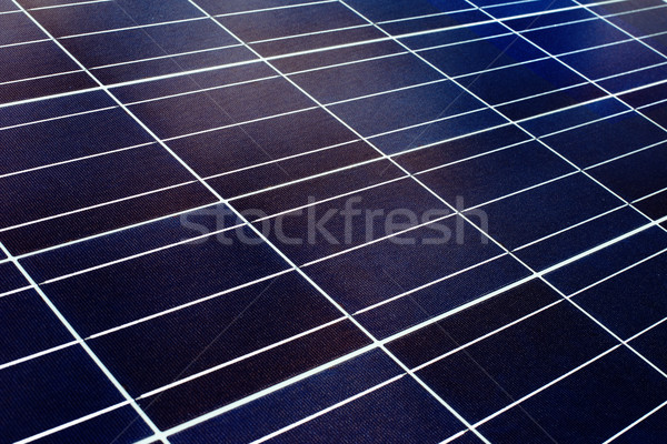 surface of the a solar panel closeup Stock photo © ultrapro
