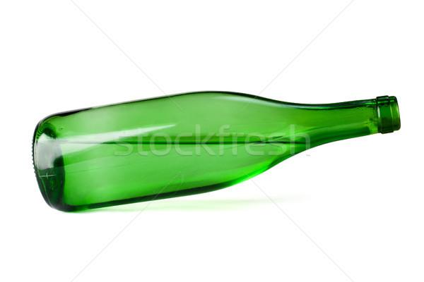 green vine bottle tilted Stock photo © ultrapro