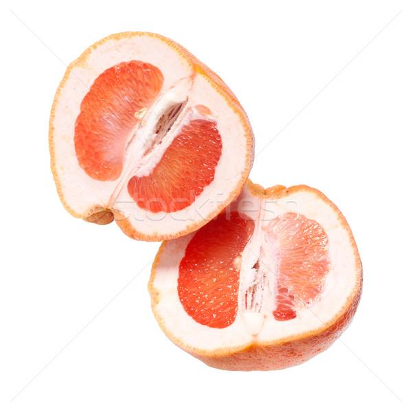 Rosso pompelmo metà tutto frutta bianco Foto d'archivio © ultrapro