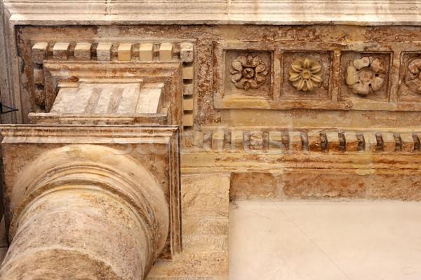 Oude gebouw bodem Frankrijk bouw Stockfoto © ultrapro