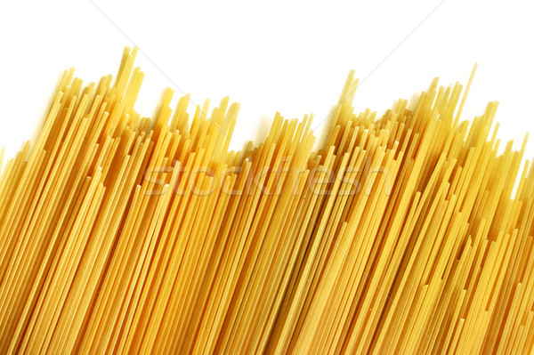 Italiana spaghetti bianco texture alimentare cena Foto d'archivio © ultrapro