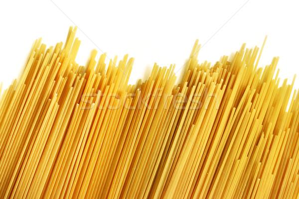 Italiano espaguete branco textura comida jantar Foto stock © ultrapro