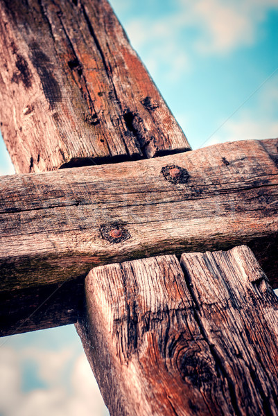 распятие Пасху Иисус Христа страсти Сток-фото © umbertoleporini