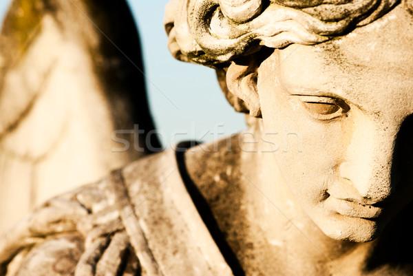 ангела лице скульптуры подробность Библии жизни Сток-фото © umbertoleporini