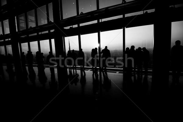 люди Смотреть город панорамный место Сток-фото © umbertoleporini