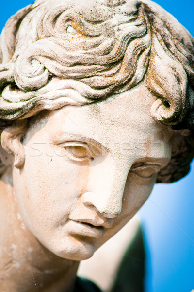 ангела лице скульптуры Библии жизни Бога Сток-фото © umbertoleporini