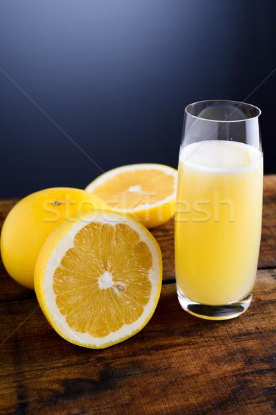 нет описание фрукты здоровья завтрак сока Сток-фото © umbertoleporini