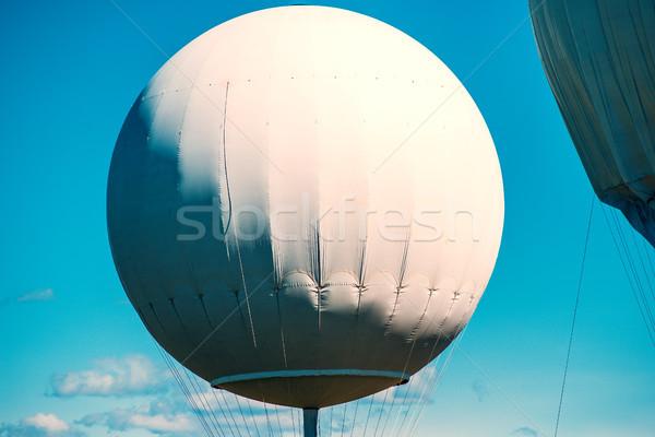 Gazu balony niebieski balon Zdjęcia stock © umbertoleporini