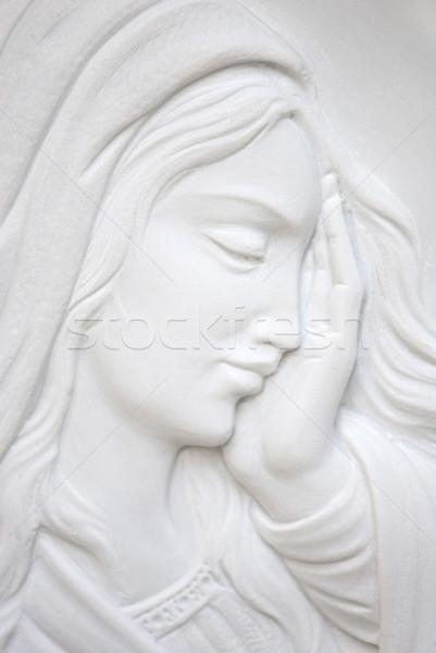 девственница Иисус Христа лице матери голову Сток-фото © umbertoleporini