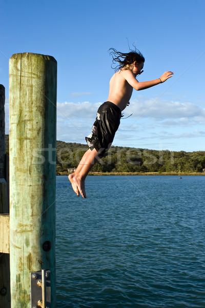 Leap of Faith Stock photo © Undy