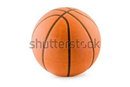 Basketball with clipping path Stock photo © Undy