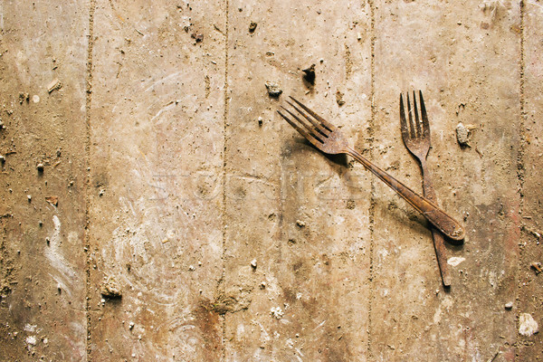 Rusty Forks Stock photo © Undy