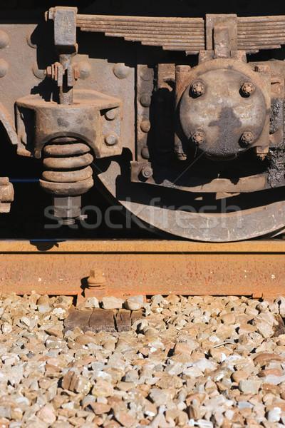 Steam Train 04 Stock photo © Undy