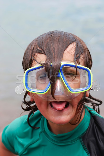 Dorky Diver 02 Stock photo © Undy