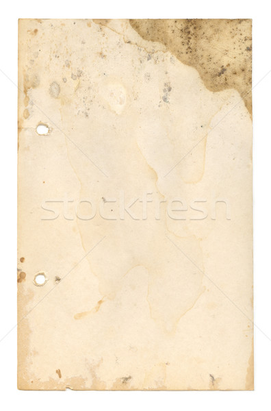 Mouldy Page Stock photo © Undy