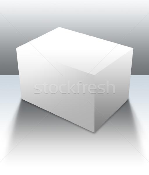 Blank Box 04 Stock photo © Undy