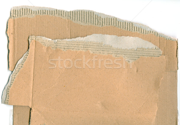 Corrugated Cardboard 01 Stock photo © Undy