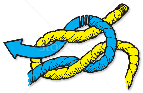 Reef Knot Stock photo © Undy