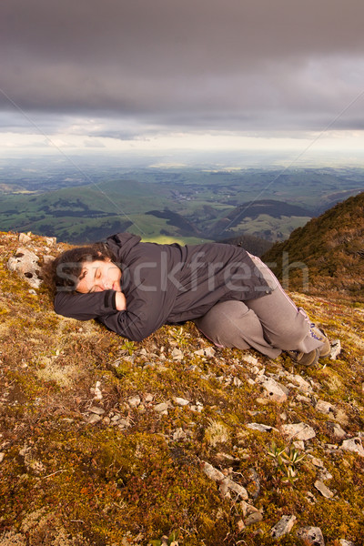 Snooze on top of the world 02 Stock photo © Undy