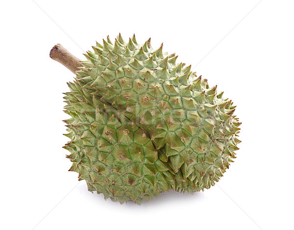 Mon Thong durian fruit isolated on white background Stock photo © ungpaoman