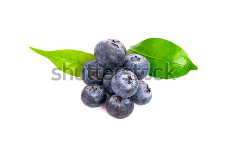Fresh berries isolated on white background. Stock photo © ungpaoman