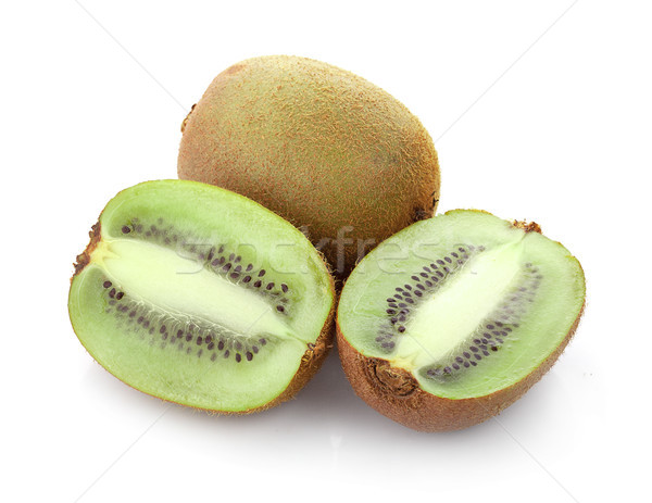 Maduro frutas kiwi aislado blanco alimentos Foto stock © ungpaoman